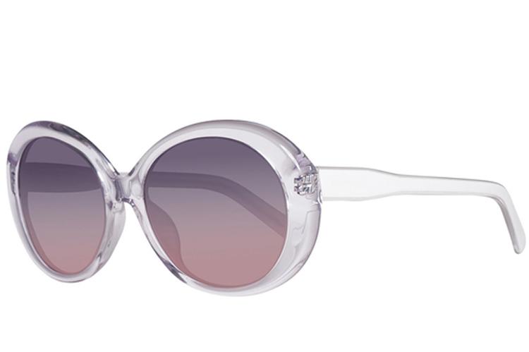 Gafas de sol. Gafas redondas transparentes