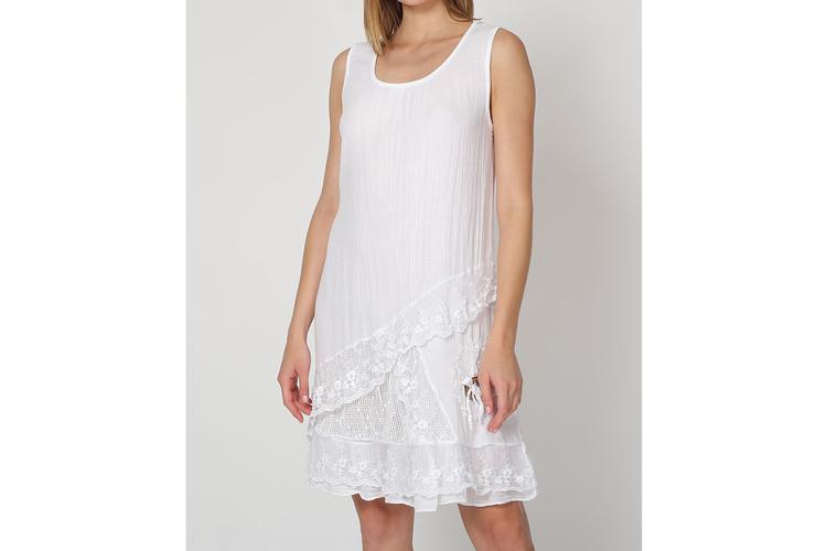 Vestidos de verano. Vestido blanco