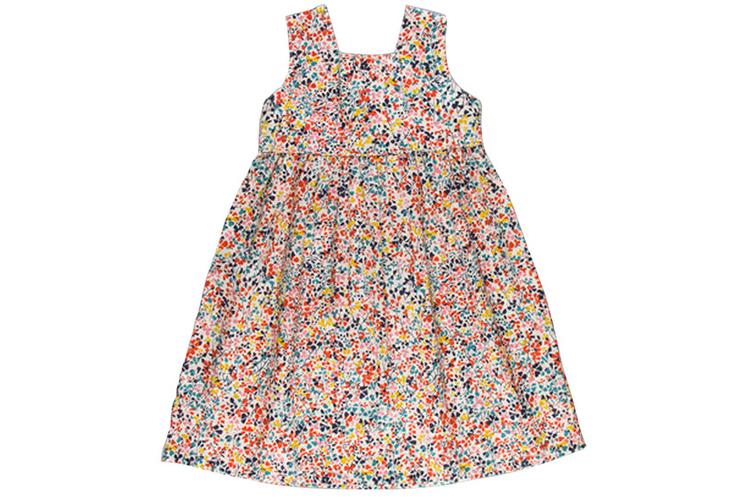 Vestidos para niña. Vestido de puntos