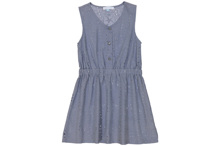 Vestidos para niña. Vestido azul