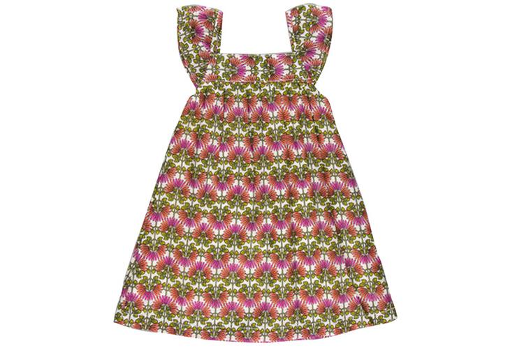 Vestidos para niña. Vestido multicolor