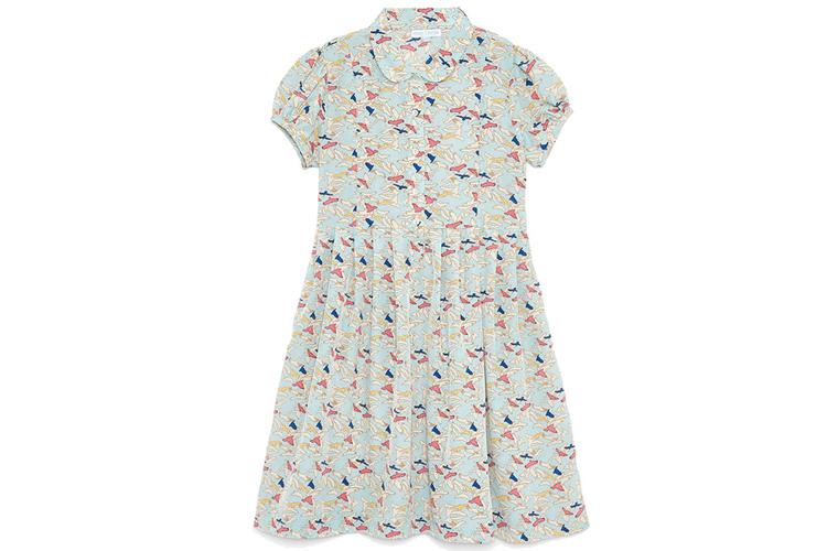Vestidos para niña. Vestido pájaros
