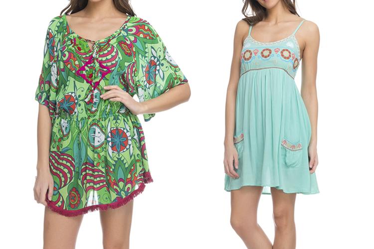Vestido de verano cortos