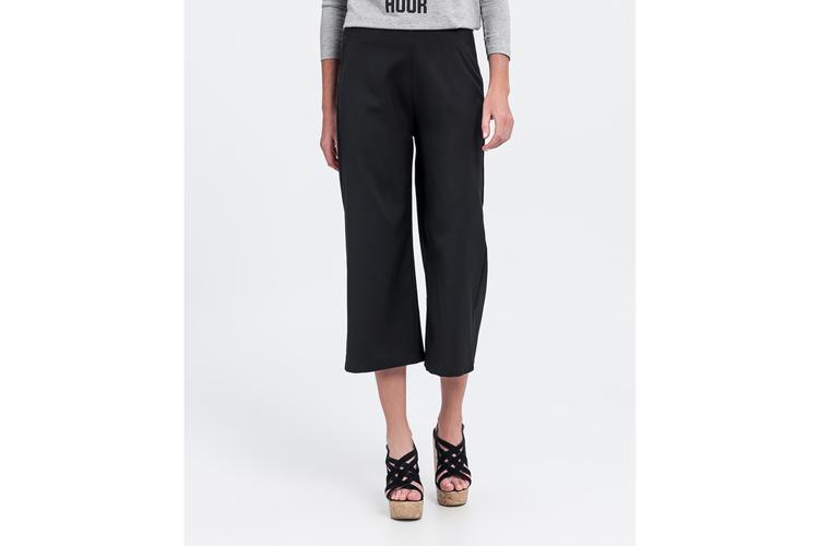 Pantalones para verano. Culotte negro