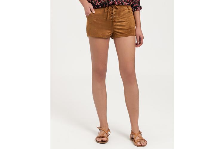 Pantalones para verano. Short de ante