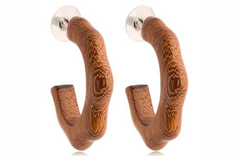 Accesorios de madera. Aros de madera