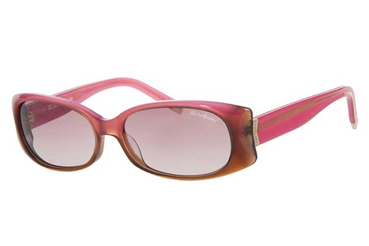 Karl Lagerfeld. Gafas de sol rosas de mujer