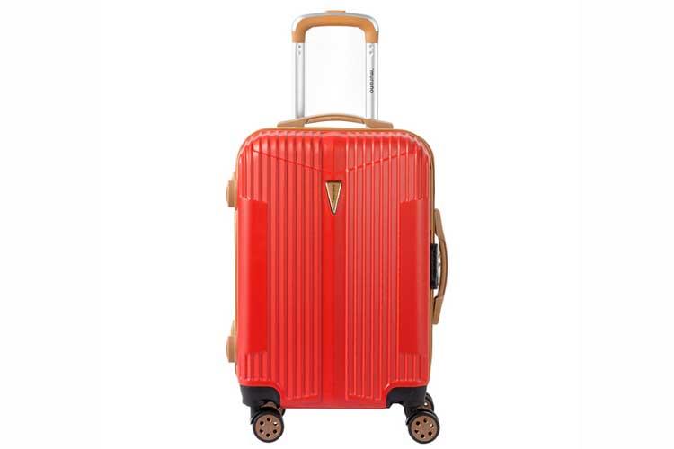 Maletas de viaje. Maleta cabina roja