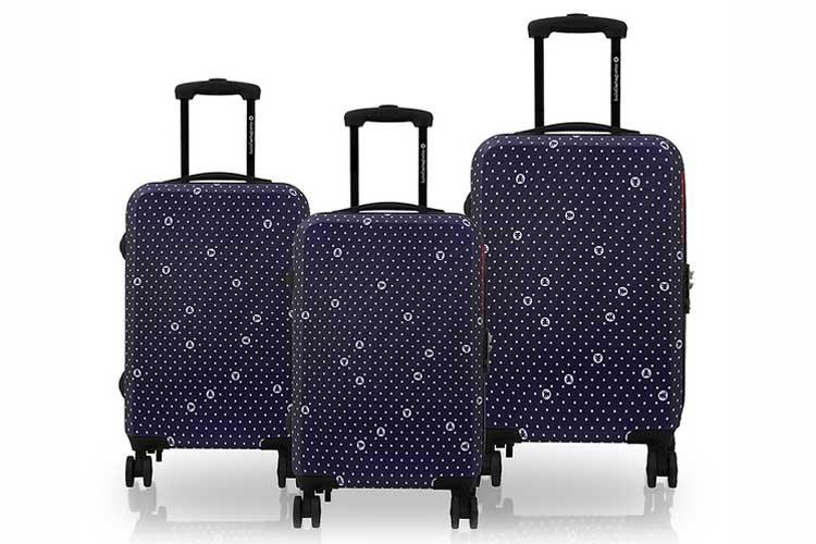 Maletas de viaje. Set de 3 maletas
