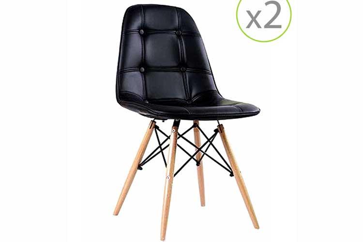 Muebles de diseño. Sillas de comedor