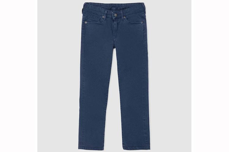 Básicos para el cole. Pantalones azules