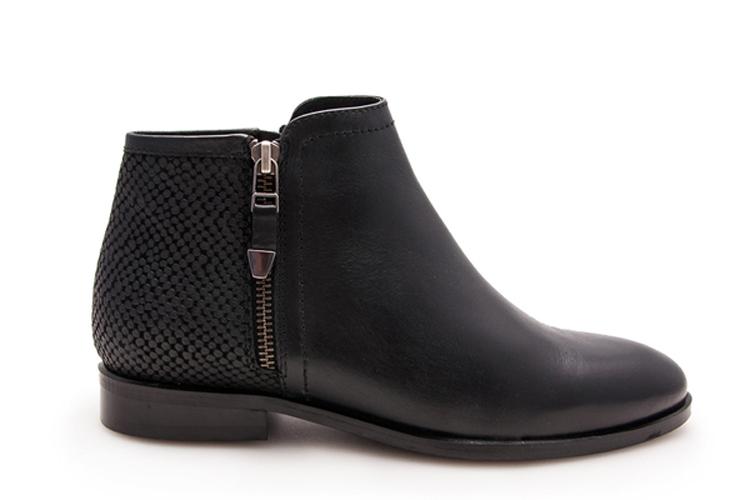 Zapatos para otoño. Botines negros