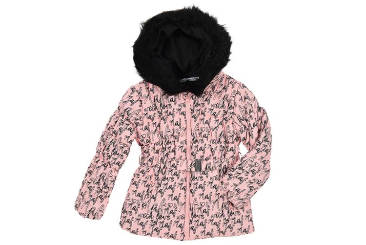 Básicos de niña. Abrigo rosa