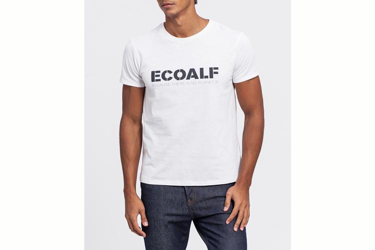 Ecoalf. Camiseta mensaje