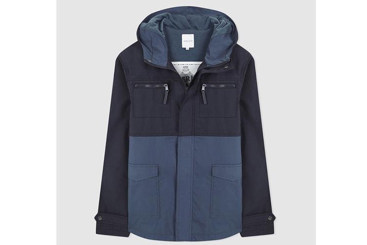 Gocco. Abrigo bicolor