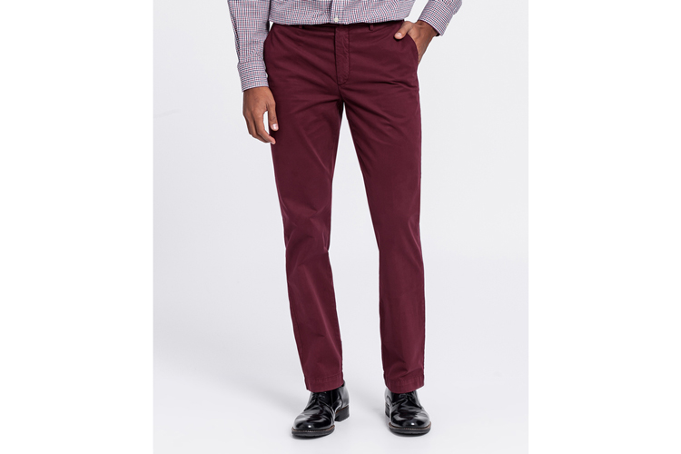 Hackett. Pantalon granate
