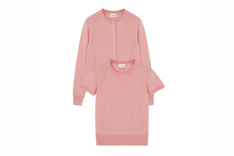 Rodier. Conjunto rosa
