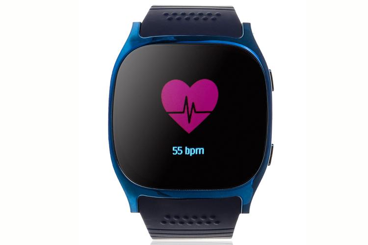 Smartwatcha para hacer deporte. Bicolor con pantalla táctil