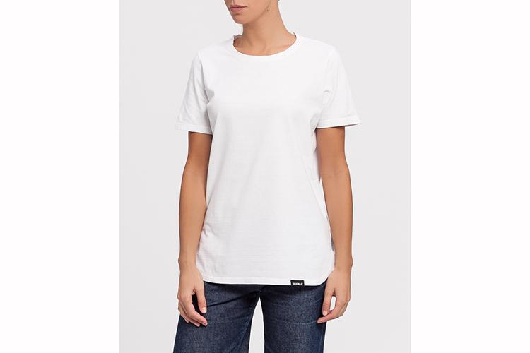Ecoalf. Camiseta blanca bñasica