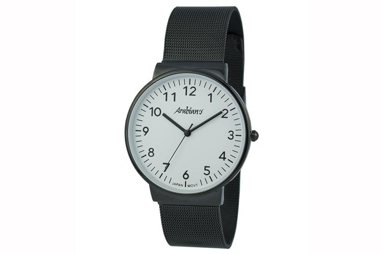 Relojes para chico. Reloj clásico con correa de metal