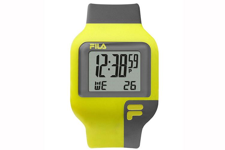 Relojes para chico. Reloj deportivo amarillo