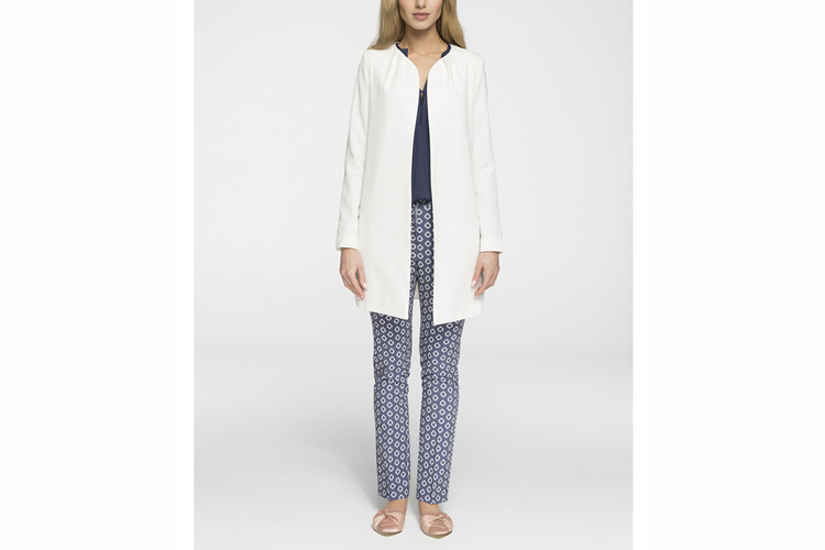 Trajes de chaqueta. Chaqueta blanca