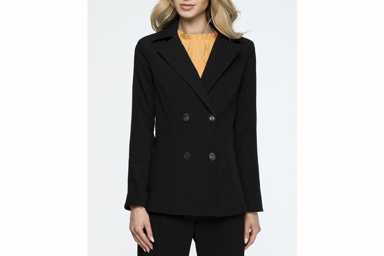 Trajes de chaqueta. Americana negra cruzada