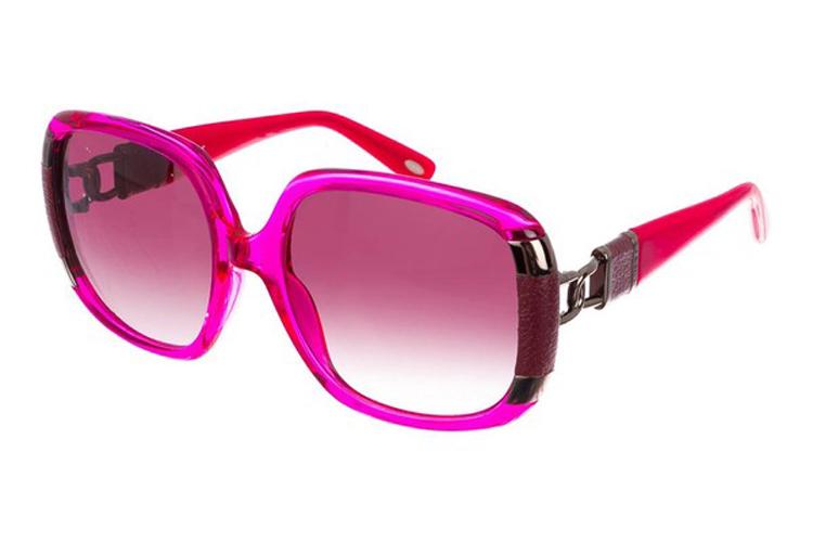Gafas de sol para invierno. Gafas rosas