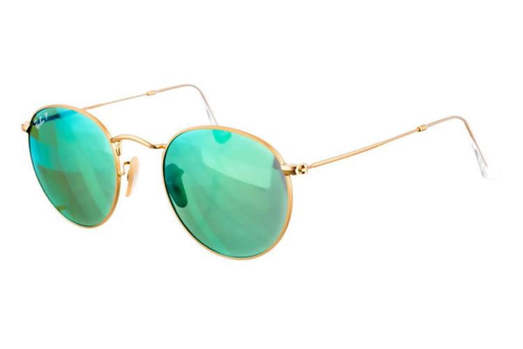 Gafas de sol para invierno. Gafas de montura de metal