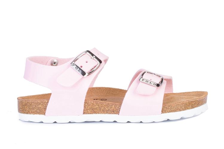 Calzado infantil. Sandalias rosas