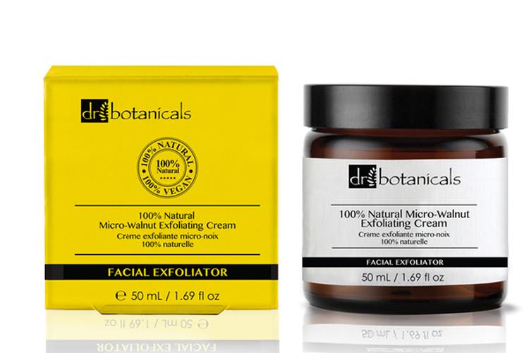 Dr. Botanicals. exfoliante facial