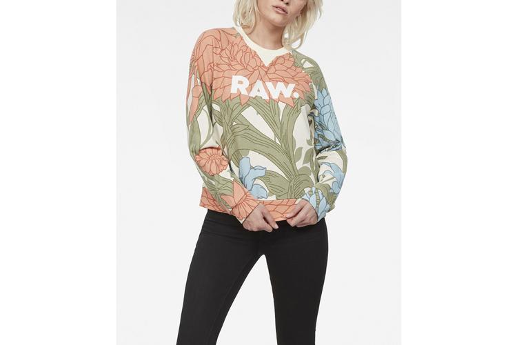 G-star Raw. Sudadera Flores
