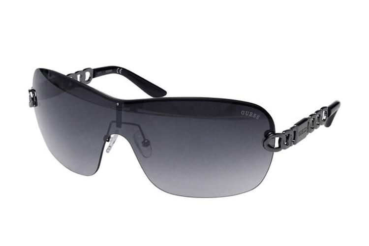 Guess. Gafas de sol sin montura negras