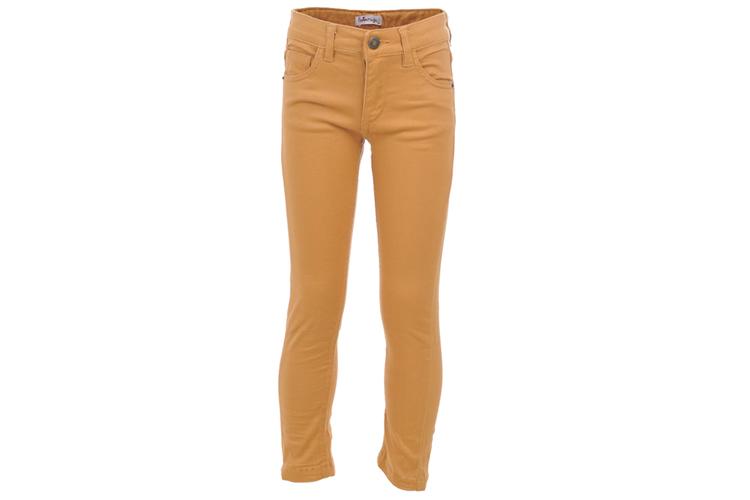 La Ormiga. Pantalón de niña color mostaza