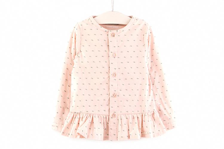 Moda Infantil. Sudadera rosa
