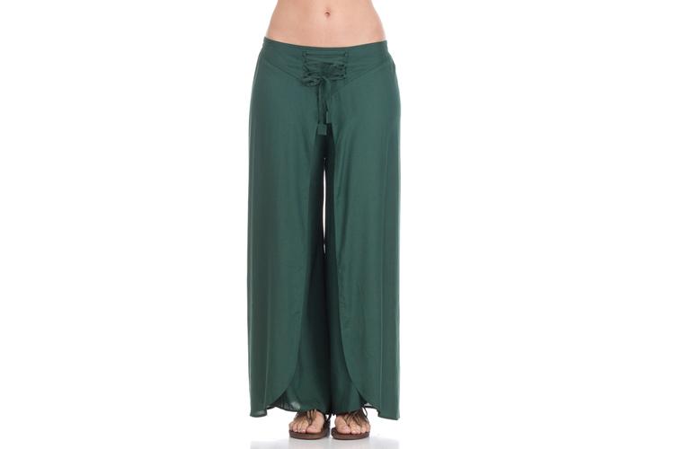 Peace & Love. Pantalón verde
