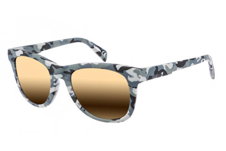 Renueva tus gafas de sol. Gafas de pasta con estampado camuflaje