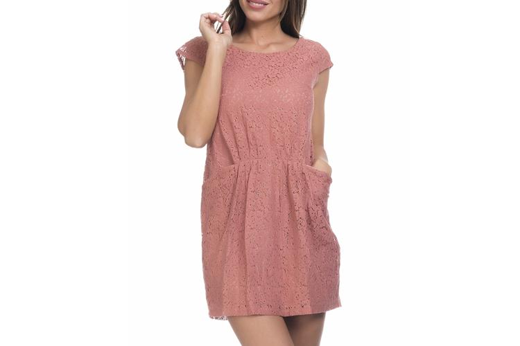 Vestidos de Tantra. Vestido rosa de encaje