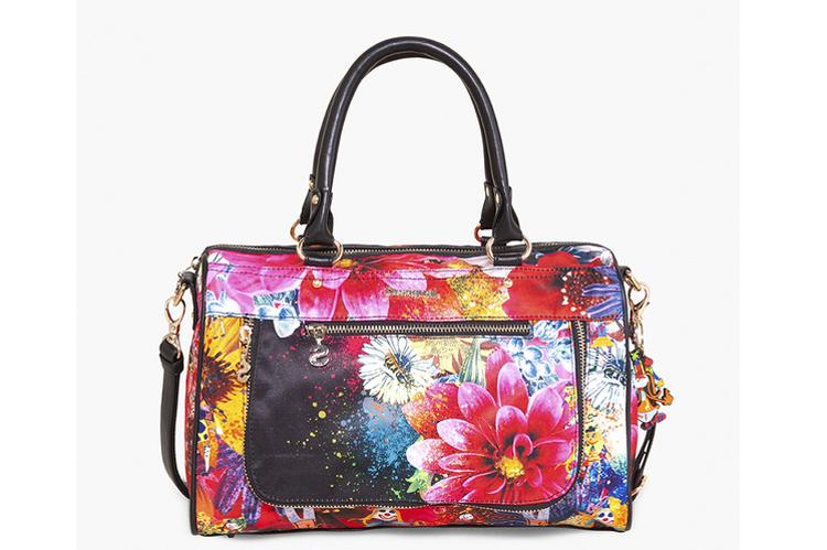 Desigual. bolso de flores