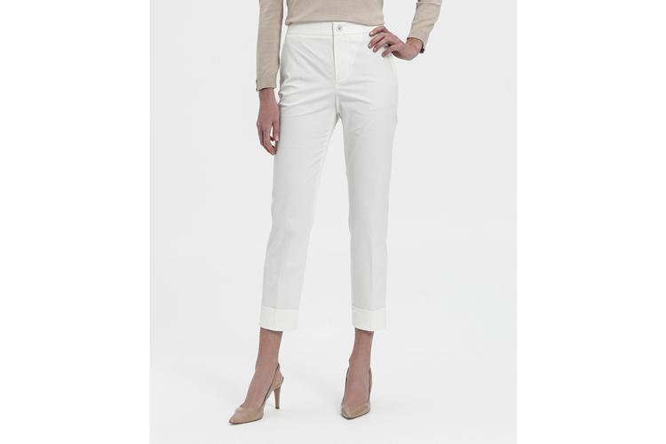 Descuentos Lasserre. Pantalón blanco