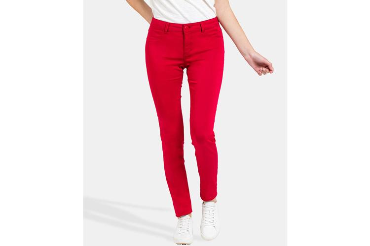 Naf Naf. Pantalón rojo