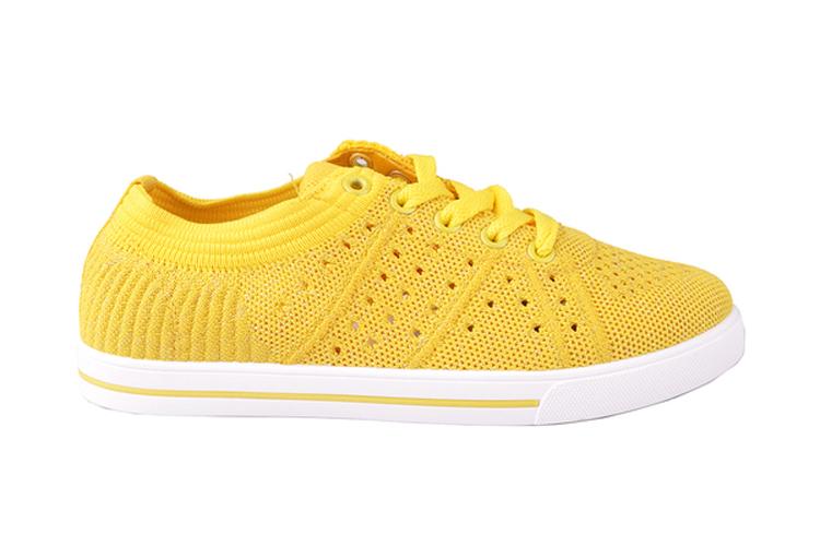 Sun Color. Deportivas amarillas