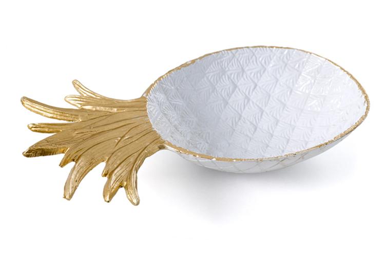 Tendencias Deco. Centro de mesa en forma de piña