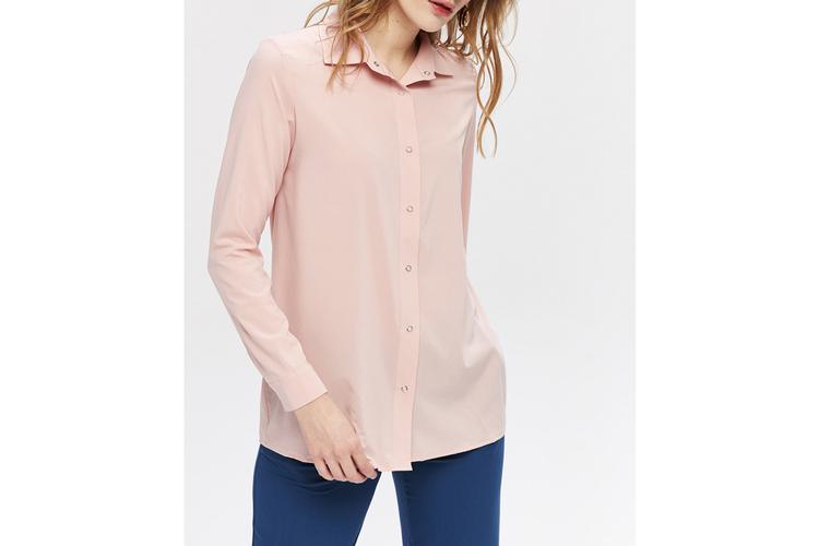 Zocha. Camisa rosa lisa