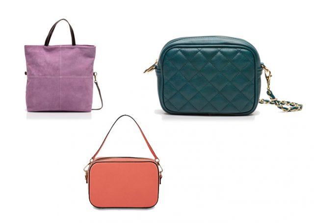Bolsos de colores para tus total looks