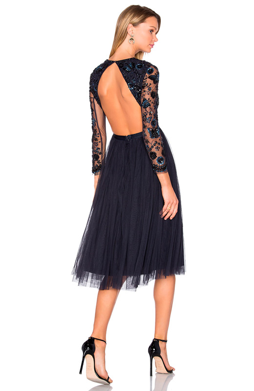 Vestido Pedrería Revolve Fieta De Clothing Marino Con qxSFqwcrpR