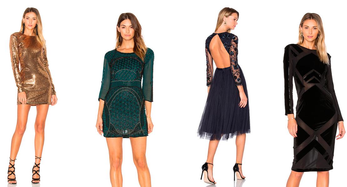 vestidos de fiesta de revolve clothing