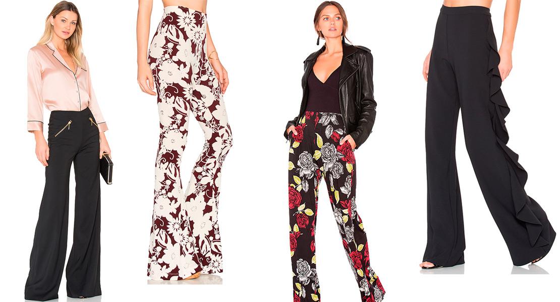 Pantalones de campana de Revolve Clothing