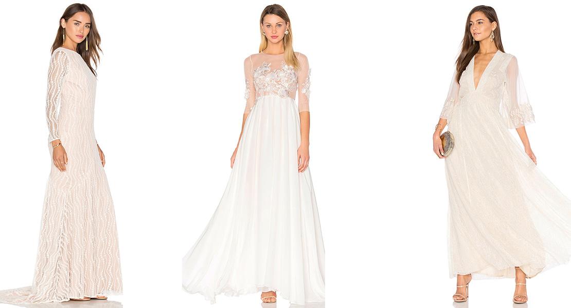 Vestidos para novia de Revolve Clothing