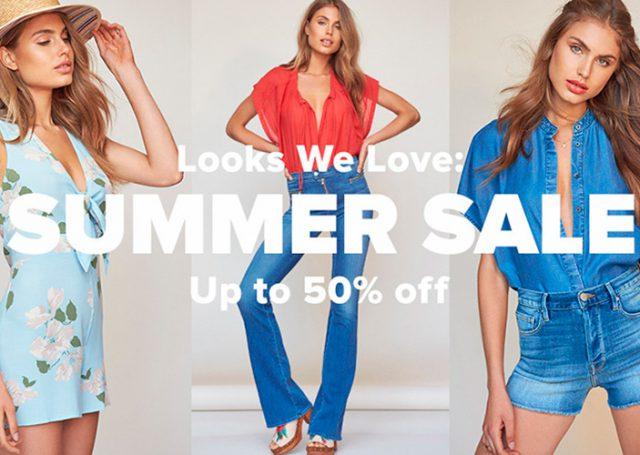 Summer sale: ¡hasta el 50% de descuento!